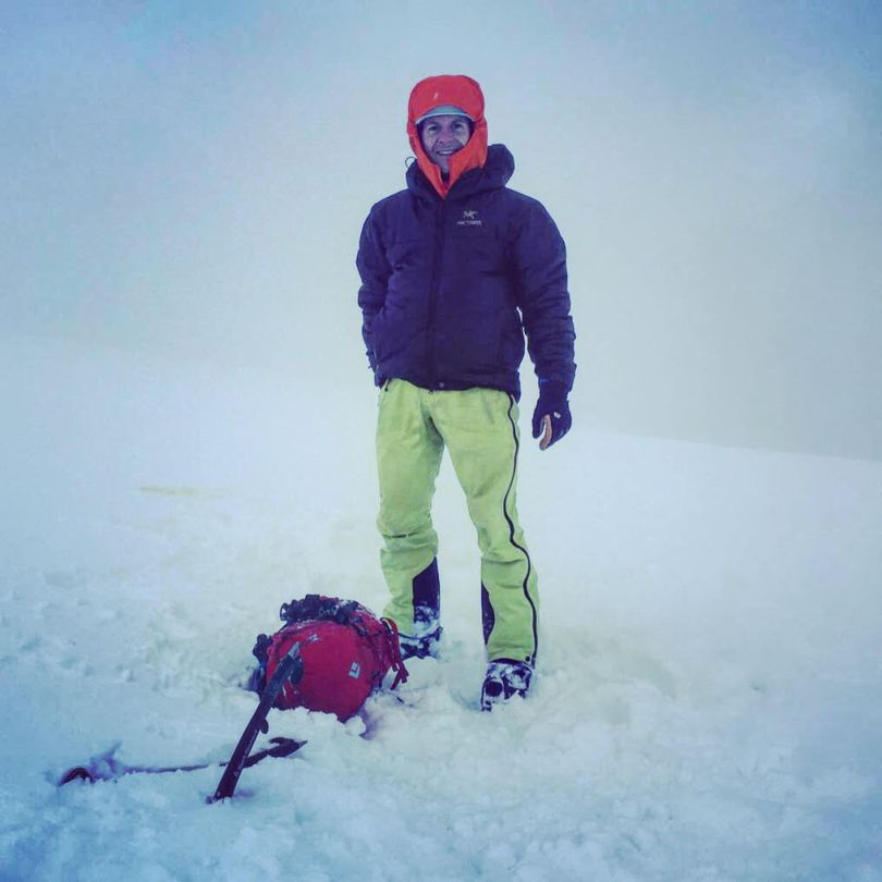 Vanir LT Pants - summit of Ben Nevis after climbing Smith's Route. Not the huge kick patches.