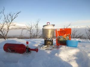 The MSR XGK-EX is a snow melty machine par excellence!