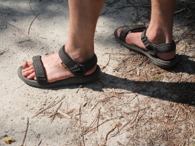 9a5b62feabd7 Teva Terra Float Universal – great for hot walks and to give your feet a  breather after bouldering.