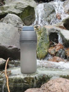 Simply fill up from any mountain stream and have confidence that you won't be suffering later in the day.