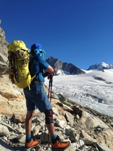 The Scarpa Zodiac Tech were comfortable for those long and hot hikes to bivvies.