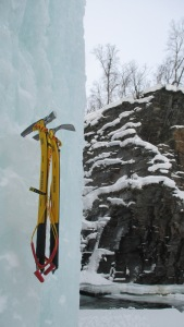 The hot forged picks were great for ice climbing.