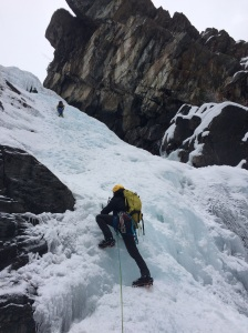 Brilliant for ice climbing. Cogne, Italy.