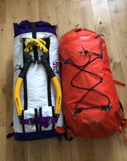 Comparison to Arcteryx FL45