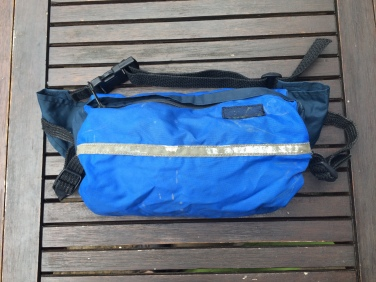 Old Skool Rock and Run Bum Bag - first to be released with stabilising side wings.