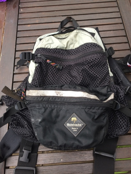 Moletracks running pack circa 2002 as used by our very own Rich Allen on the Marathon Des Sables